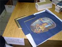 Фараон в процессе оформления