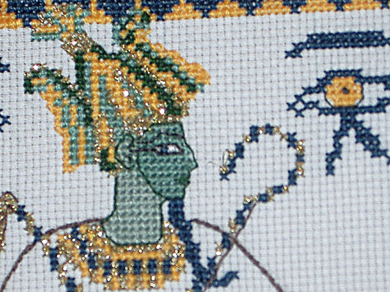 Вышивка:Египетская