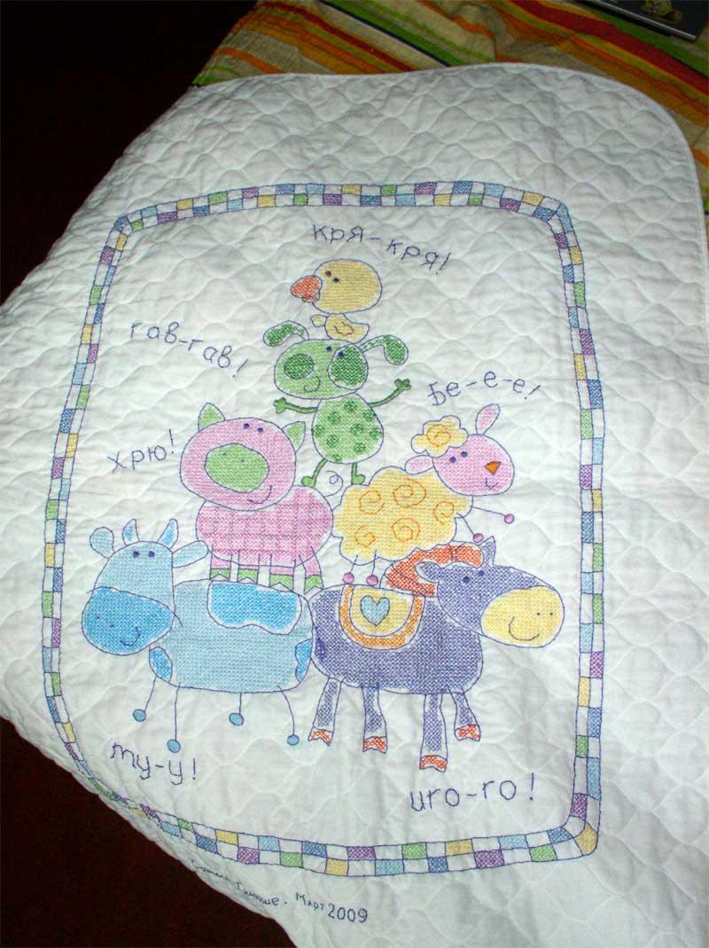 одеяло детске