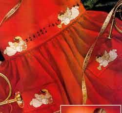 """60 грн Схема на габардине для вышивки бисером  """"Ангел фея """" 60 грн Схема на габардине для Схема плетения ангела из..."""