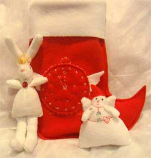 Рождественские носки с любовью  Kseny